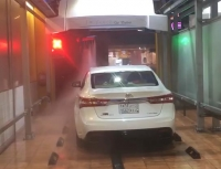 AXE OVERHEAD touchfree car wash in Saudi Arabia