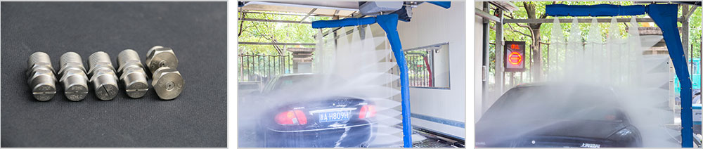 SHUIFU CAR WASH MACHINE STAINLESS STEEL NOZZLES