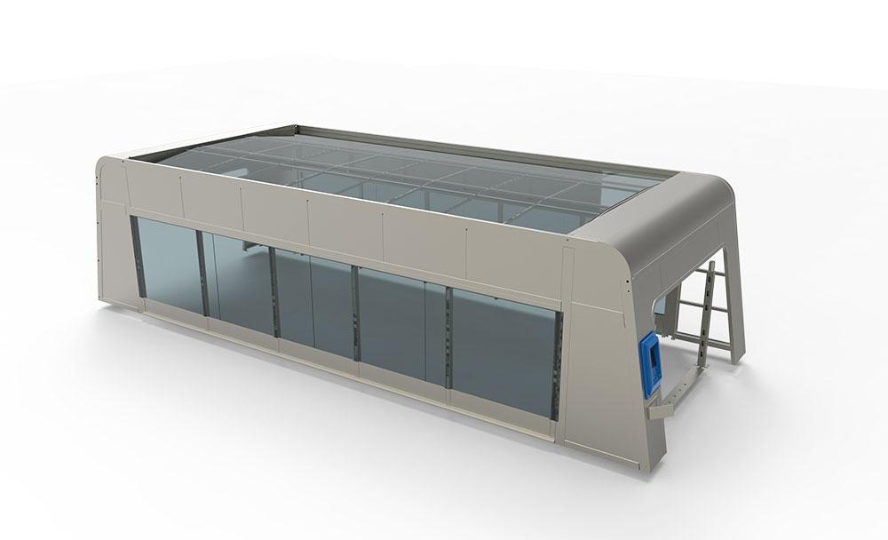 SHUIFU AUTOMATIC WASH TUNNEL CONVEYOR CAR WASH SYSTEM