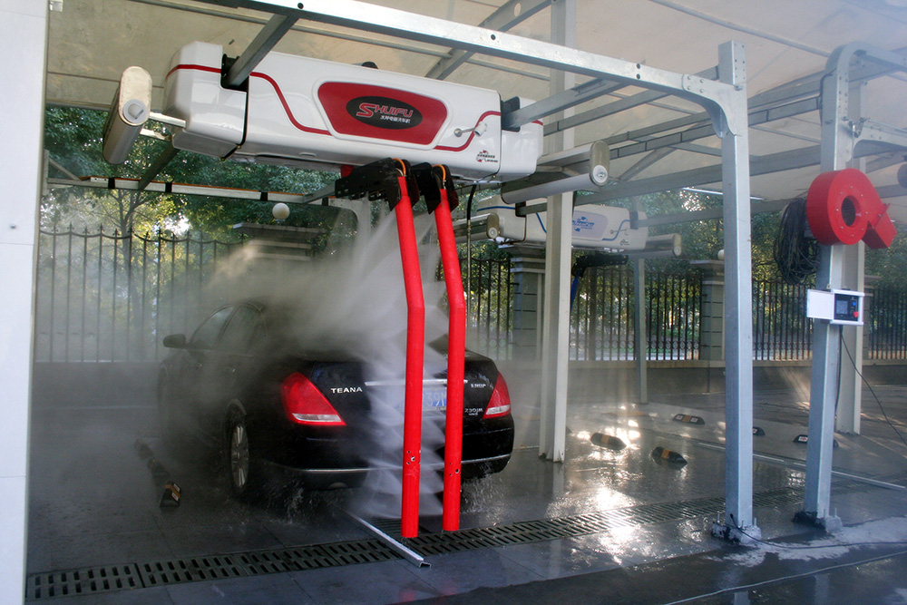SHUIFU M7 double-arm Touchless car wash machine