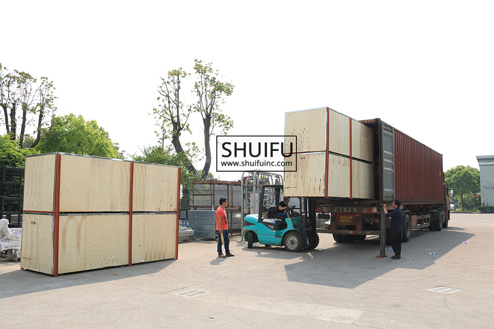 SHUIFU-TOUCHLESS-CAR-WASH-MANUFACUTRER-AXE-OVERHEAD-SHIPPING-CONTAINER-LOADING