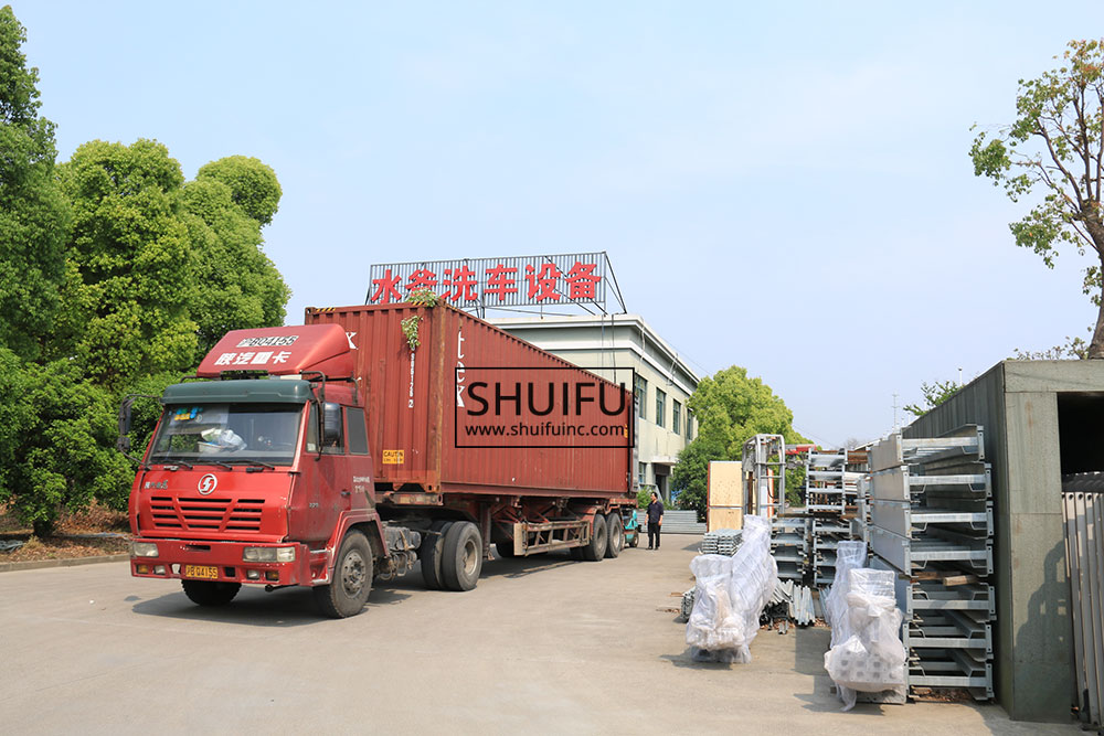 SHUIFU-TOUCHLESS-CAR-WASH-MANUFACUTRER-AXE-OVERHEAD-SHIPPING-CONTAINER