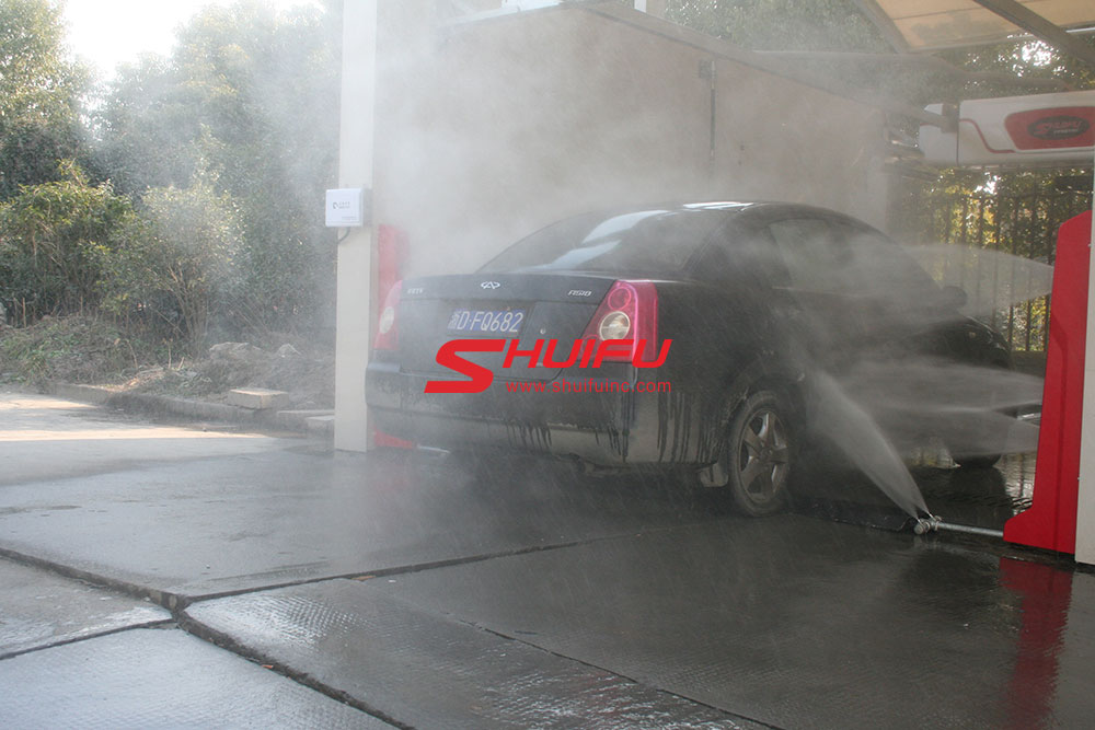 Touchless-car-wash-with-dirty-car-for-wheel-blaster-touchless-M7-SHUIFU-CHINA
