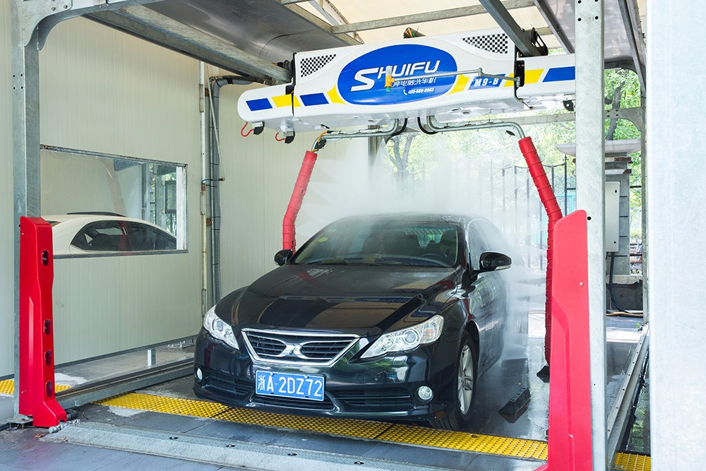 M9 Touchless Car Wash Machine Tunnel System Manufacturer Shuifu