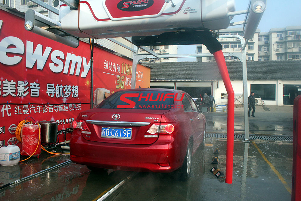 self-car-wash-touchless-M7-SHUIFU-CHINA