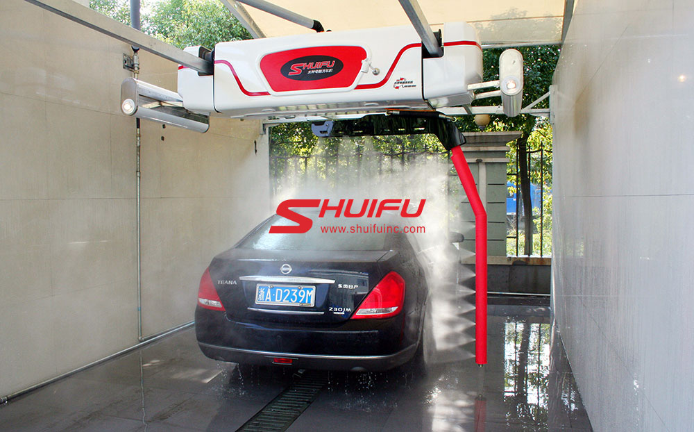 M7-Touchless Car Wash Machine, Wash Tunnel System