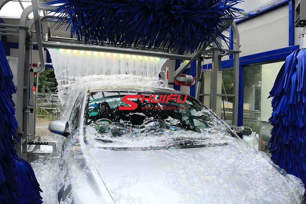 Touchless Car Wash Machine