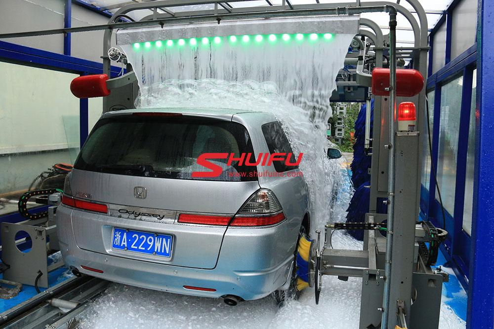 Tunnel Car Wash Car Wash Machine Price Car Wash Systems Shuifu China