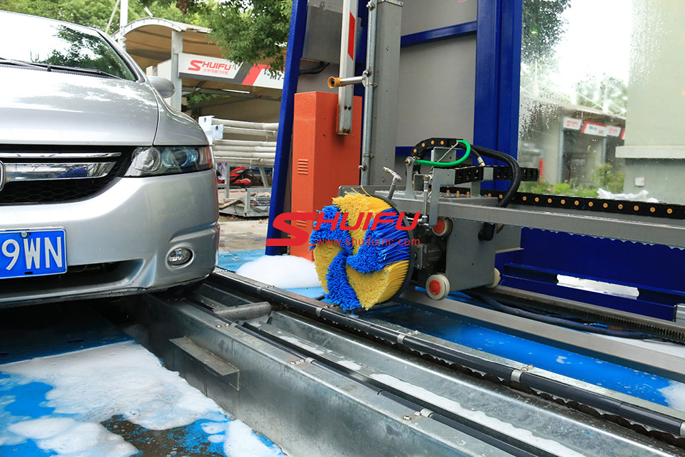 Foam Spray Car Wash >> Tunnel car wash,car wash machine price,car wash systems | SHUIFU CHINA