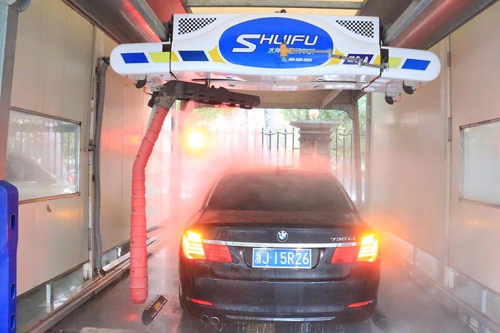 SHUIFU M9 TOUCHLESS CAR WASH MACHINE 360 SPRAY ARM