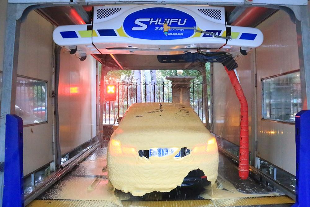 SHUIFU M9 TOUCHLESS CAR WASH MACHINE HIGH FOAM