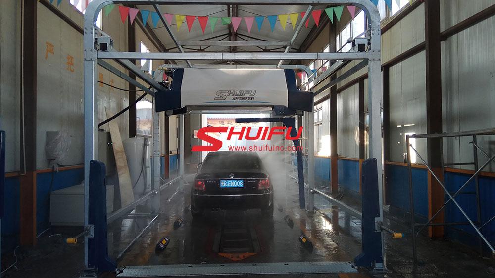 Touchless Car Wash Machine