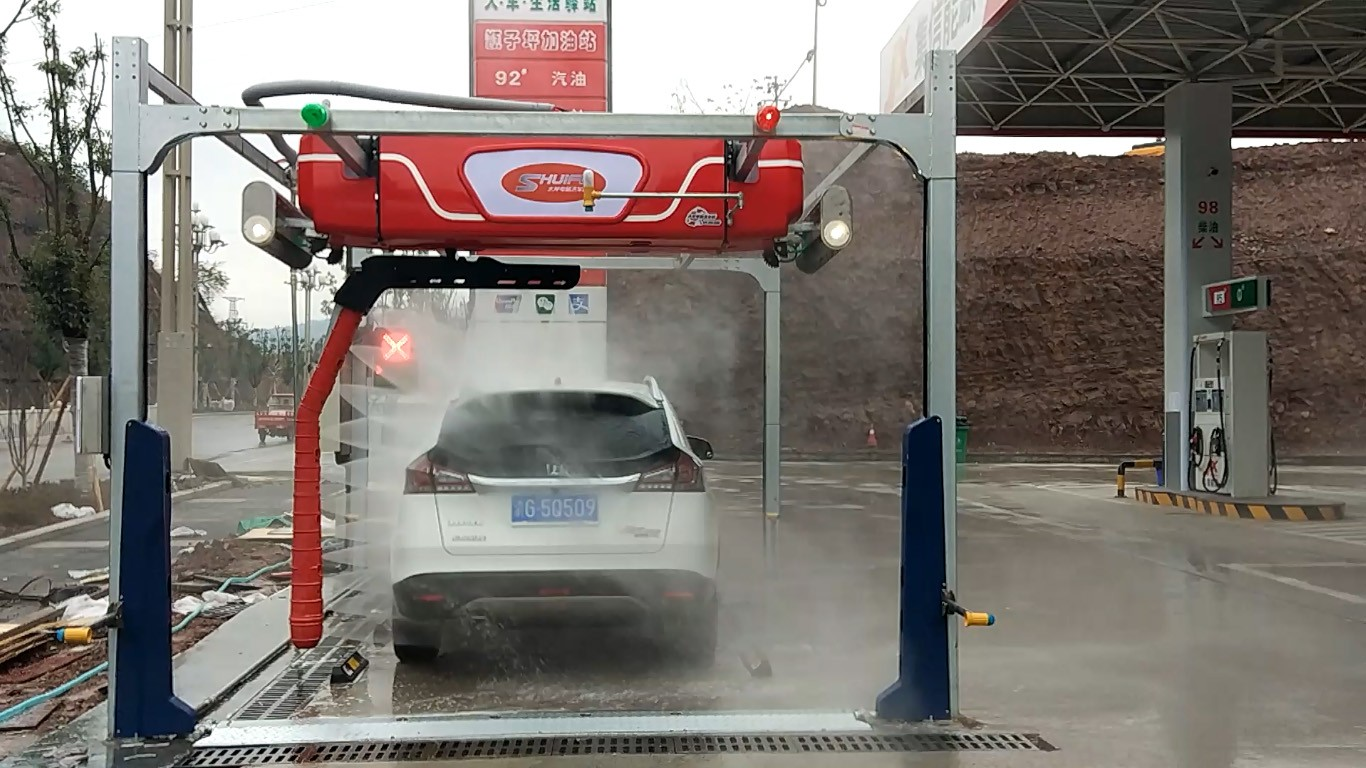 M7 Touchless In-Bay Automatic Car Wash FOR GAS FUEL STATION